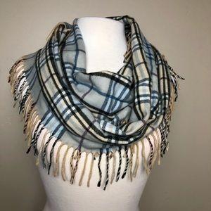 Preston & York plaid scarf